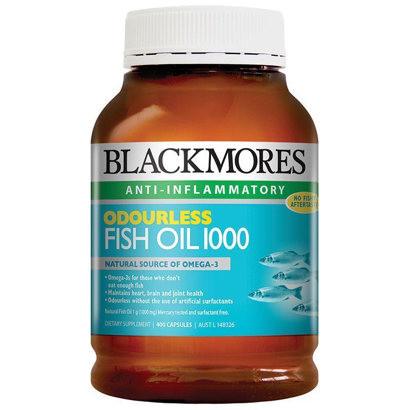 BlackMores 澳佳宝 深海鱼油 无腥味 400粒 保质期2020/4