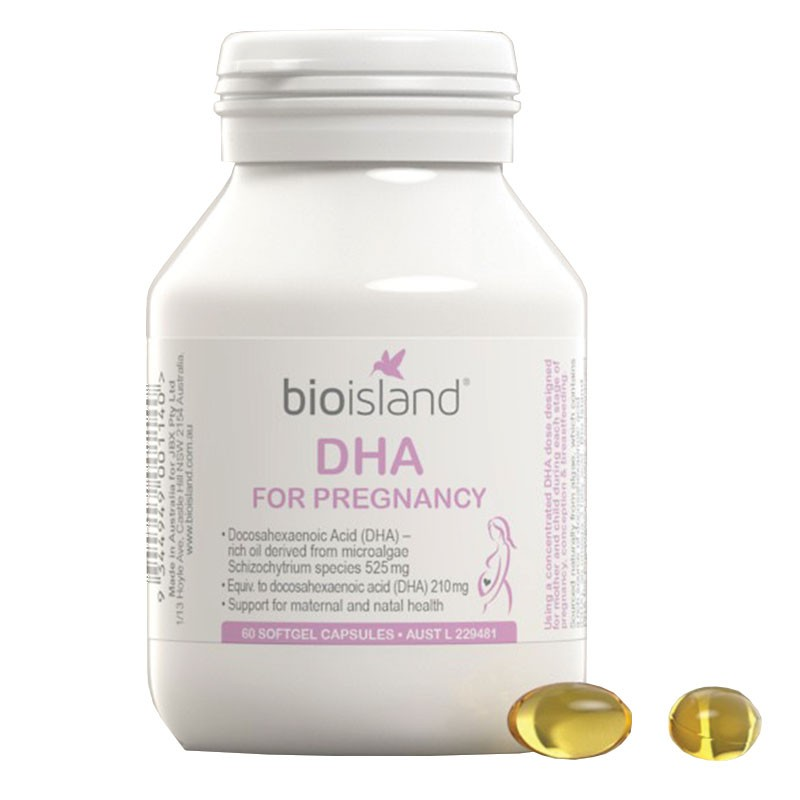 Bioisland 孕妇DHA 60粒