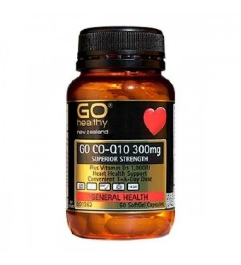 Go Healthy 高之源 辅酶Q10 高含量 300mg 保护心脏 60粒