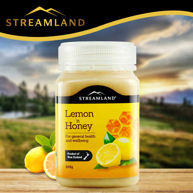 Streamland 天然柠檬蜂蜜 500g
