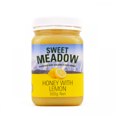 Sweet Meadow 柠檬蜂蜜 500g 保质期至19年03月