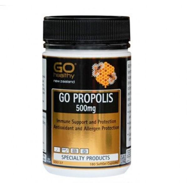 【限时特价】Go Healthy 高之源 高含量蜂胶 500mg 180粒
