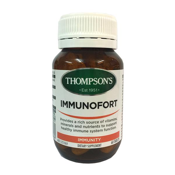 Thompson's汤普森 成人综合免疫片 120片