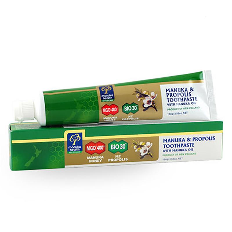 Manuka Health 蜜纽康 麦卢卡油蜂胶牙膏 100克 保质期2020/3