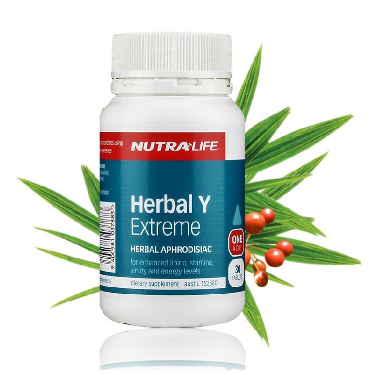 Nutralife 纽乐 肾护卫 30粒 -Herbal Y 保质期至21.11