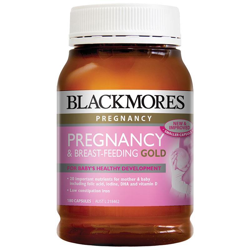 Blackmores澳佳宝 孕妇黄金素 大瓶180粒 母婴专区