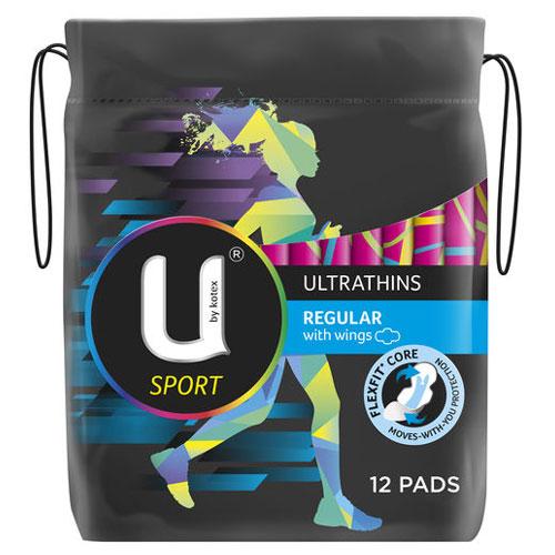 【超市】UbyKotex卫生巾 正常运动款 不含荧光剂 12片装