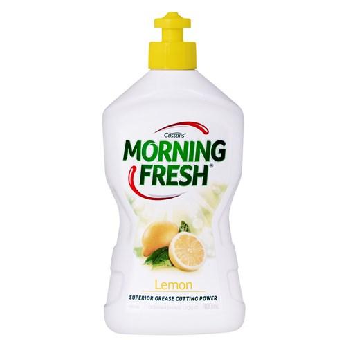 【超市采购】Morning Fresh清新早晨 超浓缩餐洗净 洗洁精 400ML 柠檬味