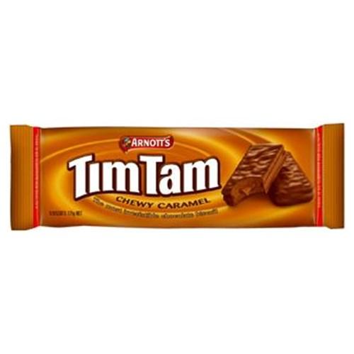 【超市采购】TimTam 巧克力饼干 焦糖奶香夹心 200克