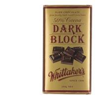 【超市采购】Whittakers黑巧克力50%可可 250克
