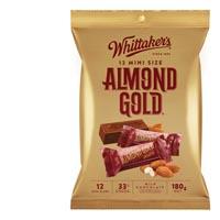 【超市】Whittakers杏仁味巧克力12小袋装 180克