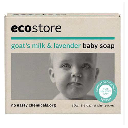 Ecostore 宝宝薰衣草羊奶香皂 80g